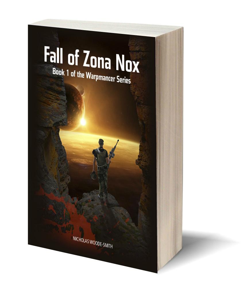 Fall of Zona Nox 3D cover